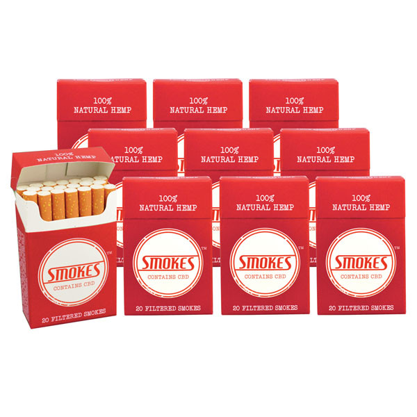 Smokes Hemp Cigarettes - 1 Carton | Group